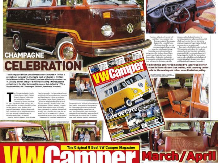 VW Camper & Commercial, März/April 2011